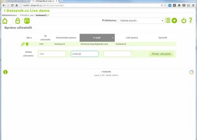 Správa uživatelů online systému pro týmovou spolupráci (pouze tarif ULTRA)